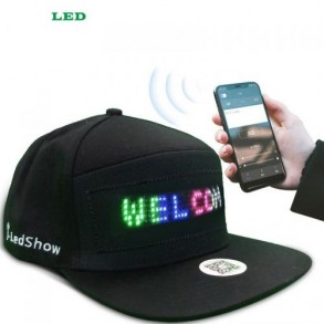 Led Cap Display from Mobile...