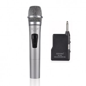 Wireless microphone with...