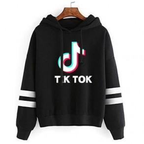 Tik tok hooded sweater with...
