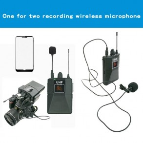 Receiver microphone with 2...