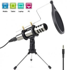 Broadcast microphone for...