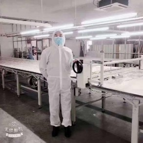Non woven protective suit -...