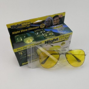Sunglasses with night view...